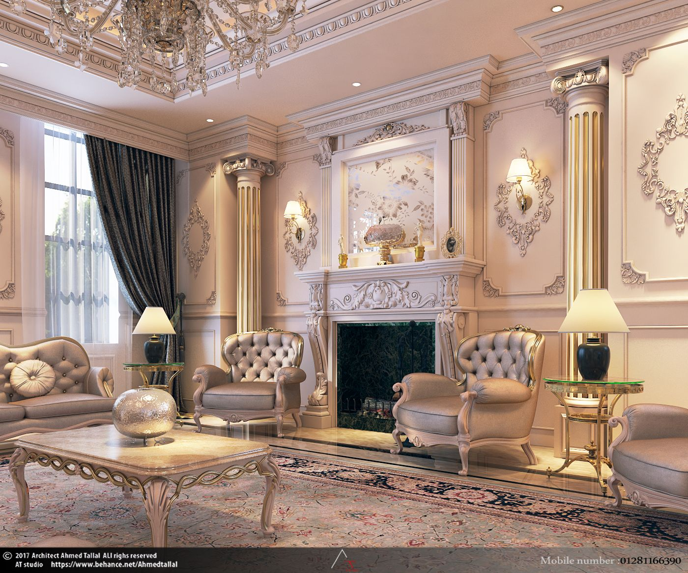 Luxury Classic Living Rooms: In The Heart Of The Maison
