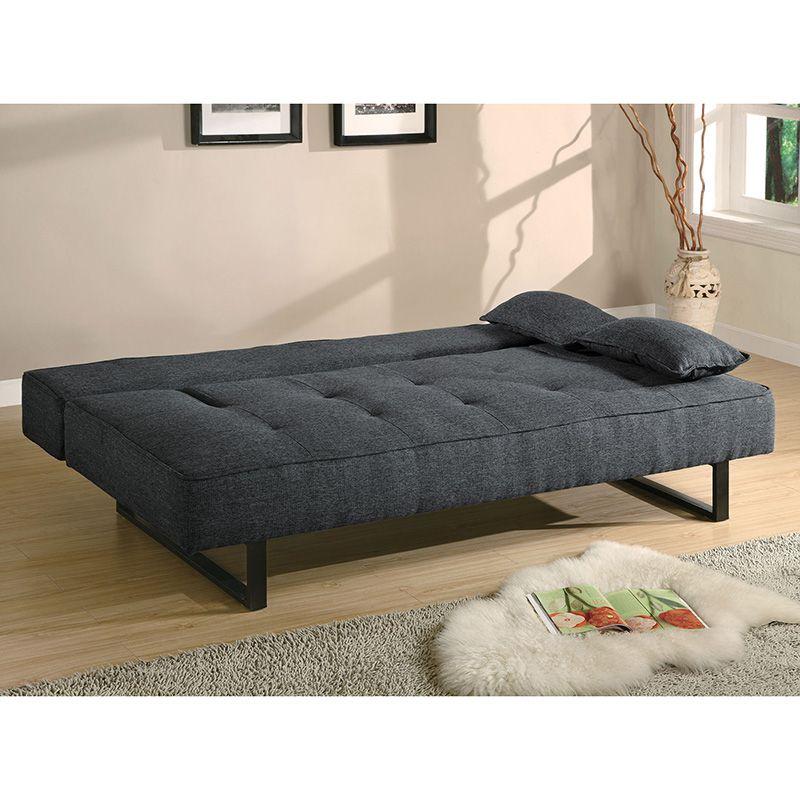 Www Costco Com Mx View P Coaster Sofa Cama Sin Brazos Gris Oscuro 638800 Cojines Para Muebles Sofas Diseno Camas