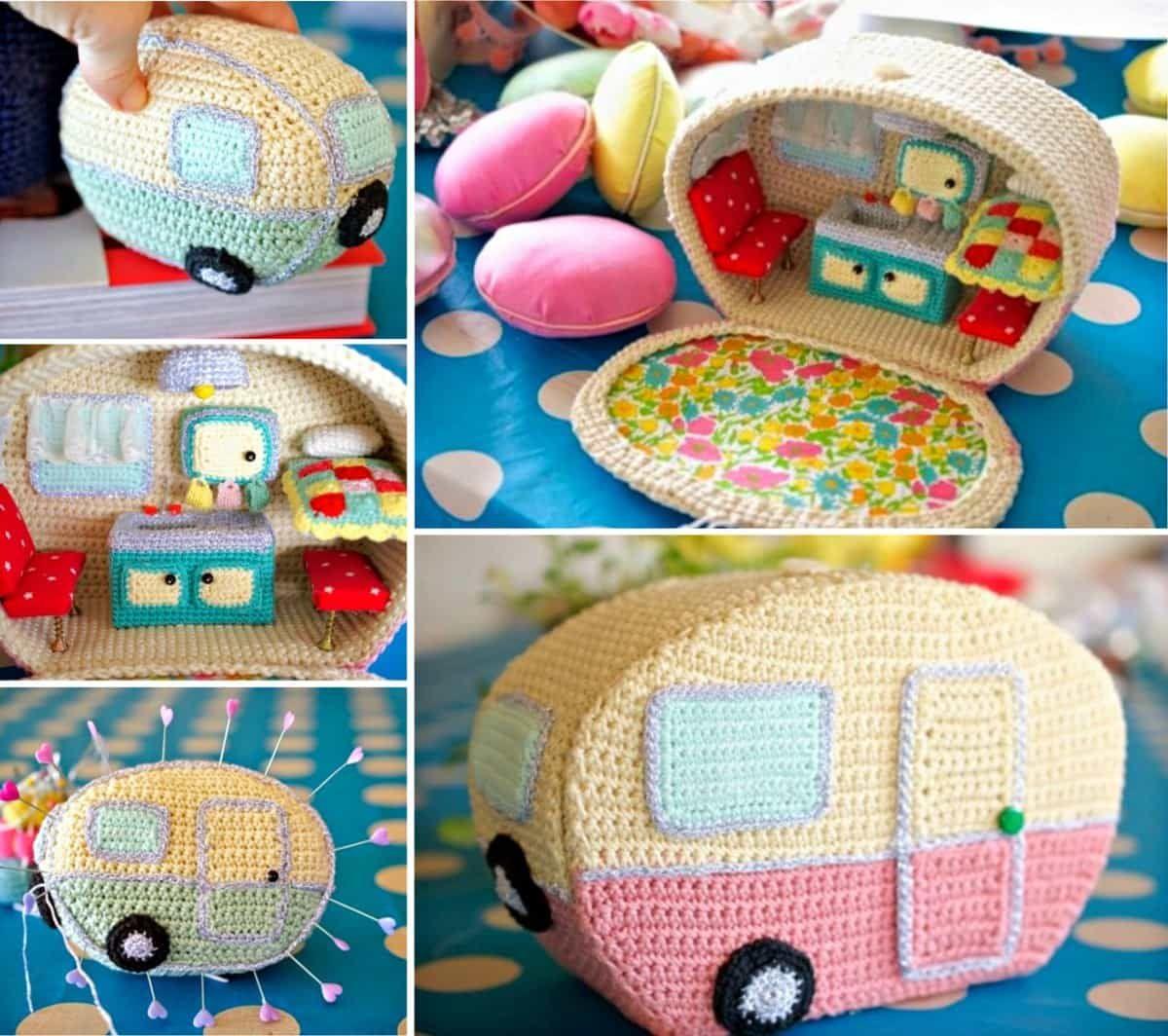 Photo of Crochet Vintage Caravan Free Pattern All The Best Ideas