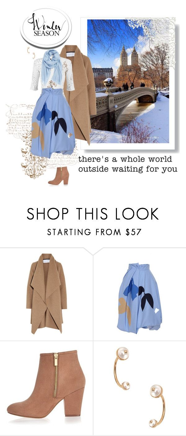 """Go Outside"" by seafreak83 on Polyvore featuring Harris Wharf London, Louis Vuitton, Jonathan Saunders, River Island, Valentino, Nordstrom, women's clothing, women's fashion, women and female"