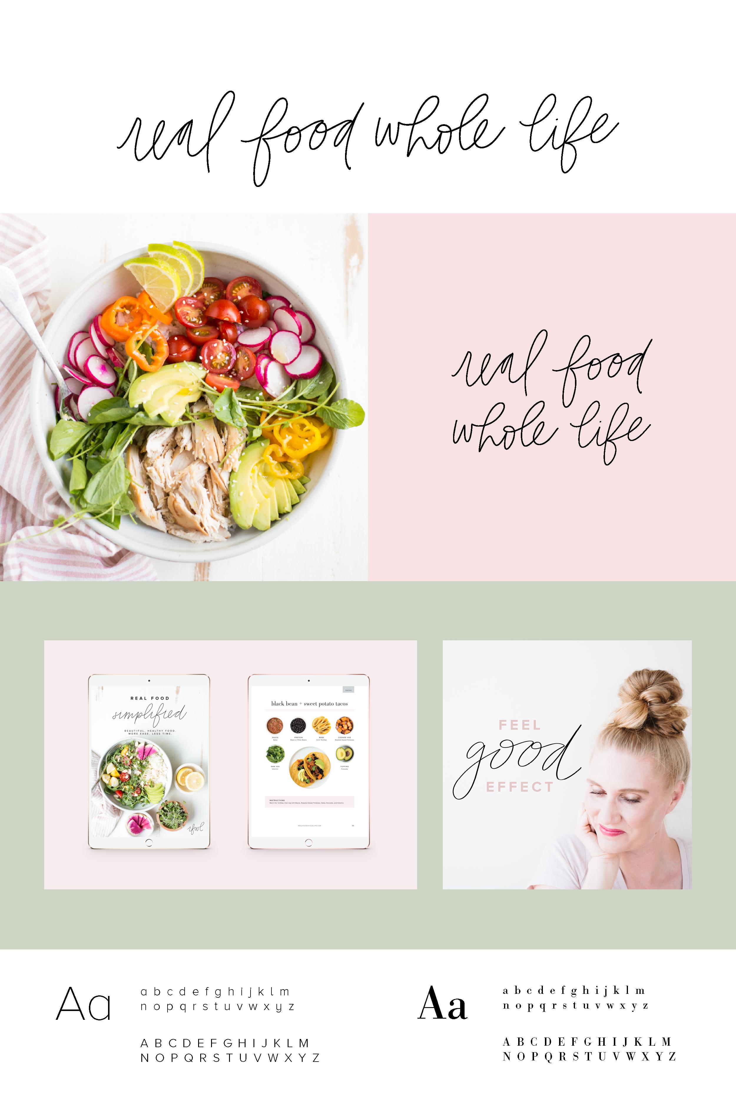 Real Food Whole Life Real Food Recipes Logo Food Food