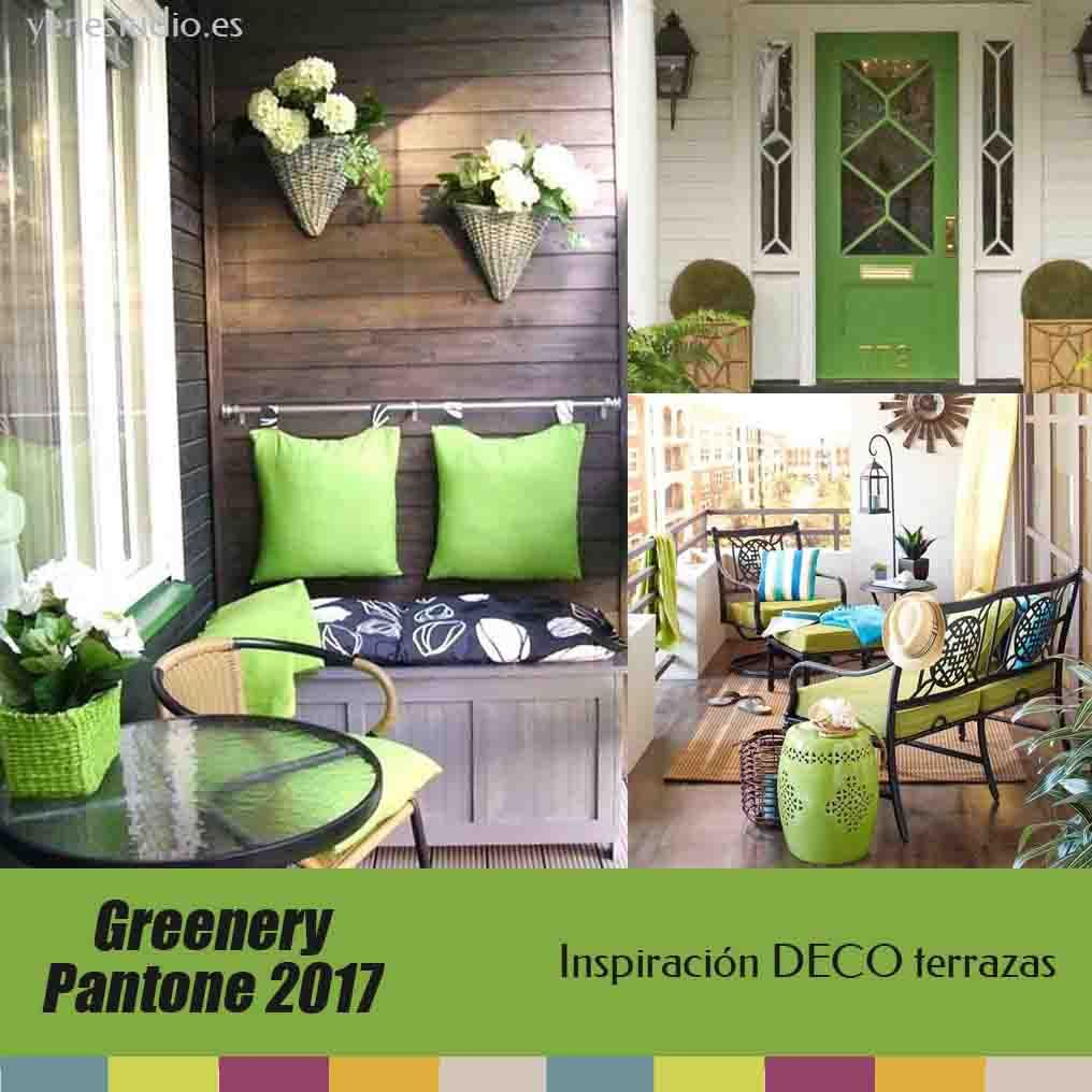 Greenery pantone color 2017 inspiraci n decoraci n para - Decoracion para jardines ...