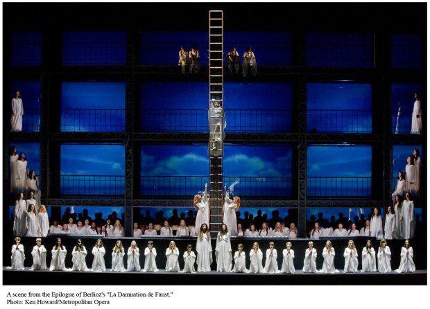 Robert Lepage S La Damnation De Faust Opera In The Age Of Windows Opera Scenic Design Metropolitan Opera