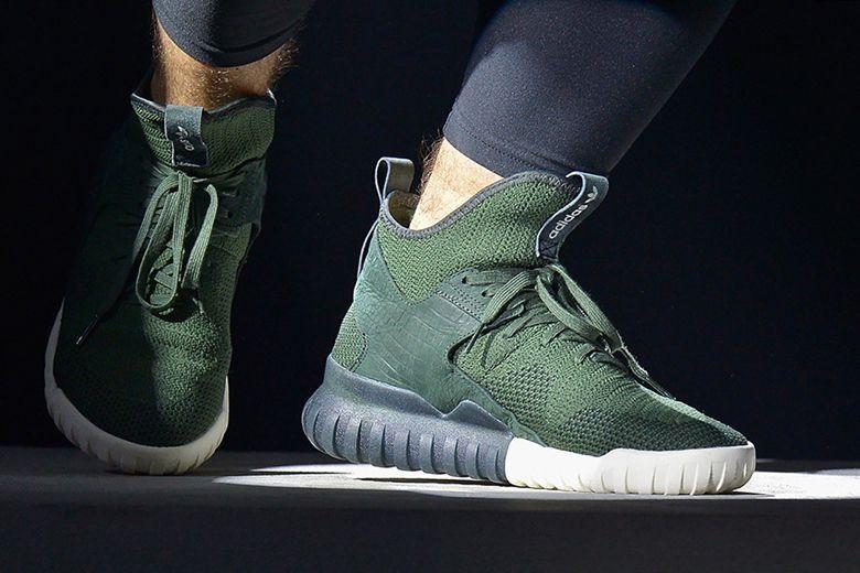 adidas tubular verdi
