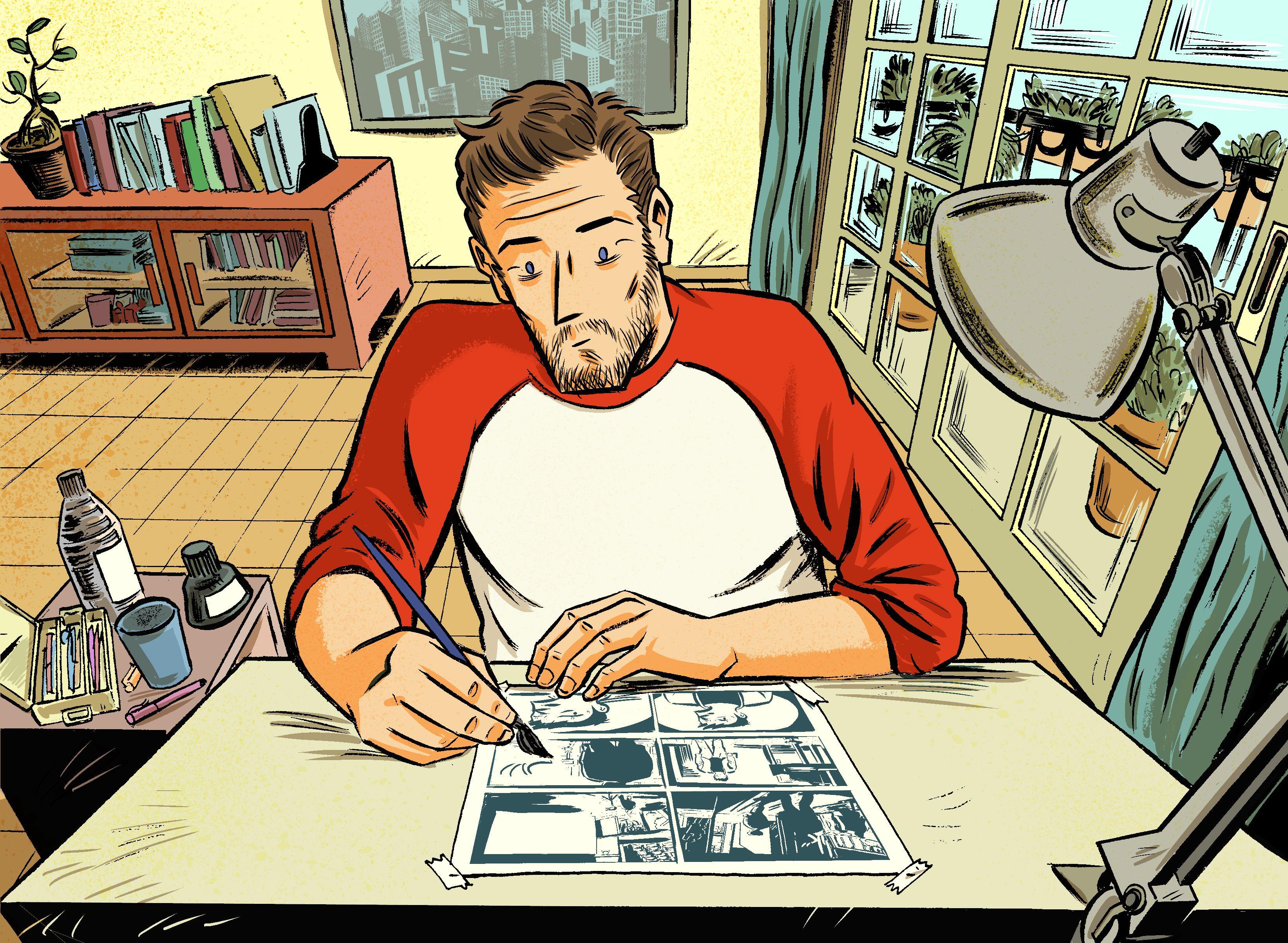 Max Vento, ilustración, el estudio #illustration #maxvento
