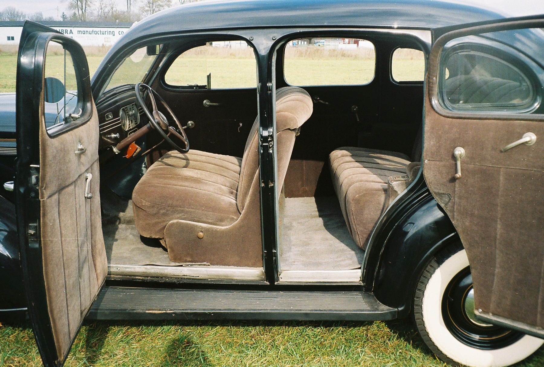 1938 Plymouth P6 Deluxe Four Door Touring Sedan This Is A Super Solid And Straight Car The Body Shows No Signs Of Damage Or Repair Sedan Plymouth Cool Cars