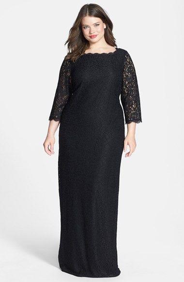 Nordstrom Plus Size Gowns Keninamas