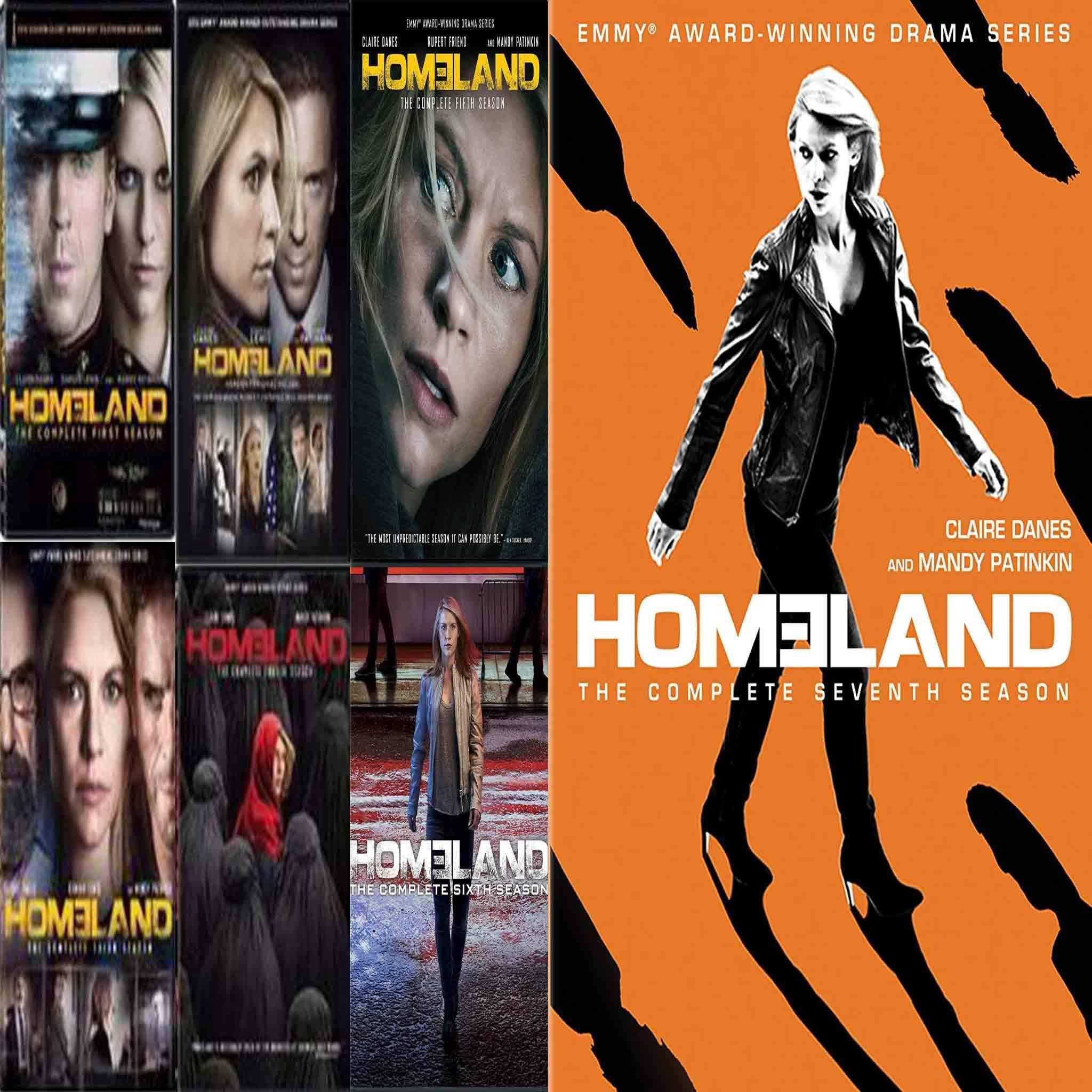 Homeland DVD Series Seasons 1-7 Set | Products | Season 1