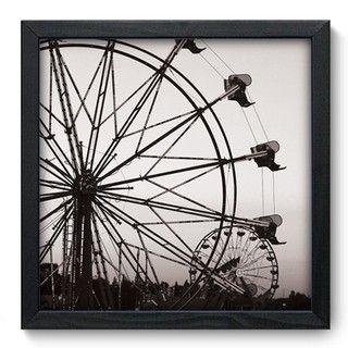 Quadro Decorativo - Roda Gigante - 005qdu