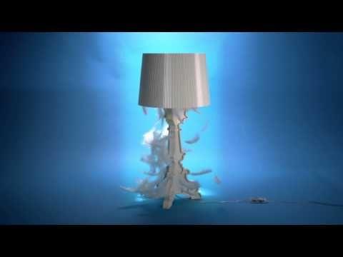 Bourgie lámpara de mesa Kartell: compra online, diseño Ferruccio Laviani