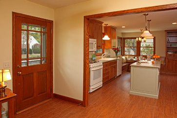 What Paint Color Goes Well With Orangish Cabinets