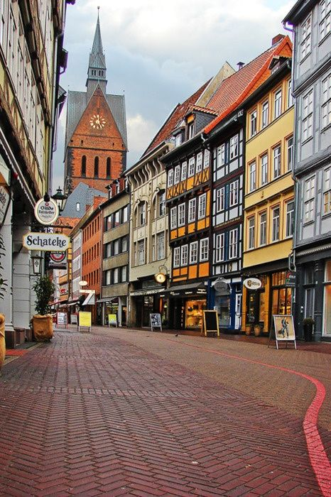 Hannover, Germany. Weltreise