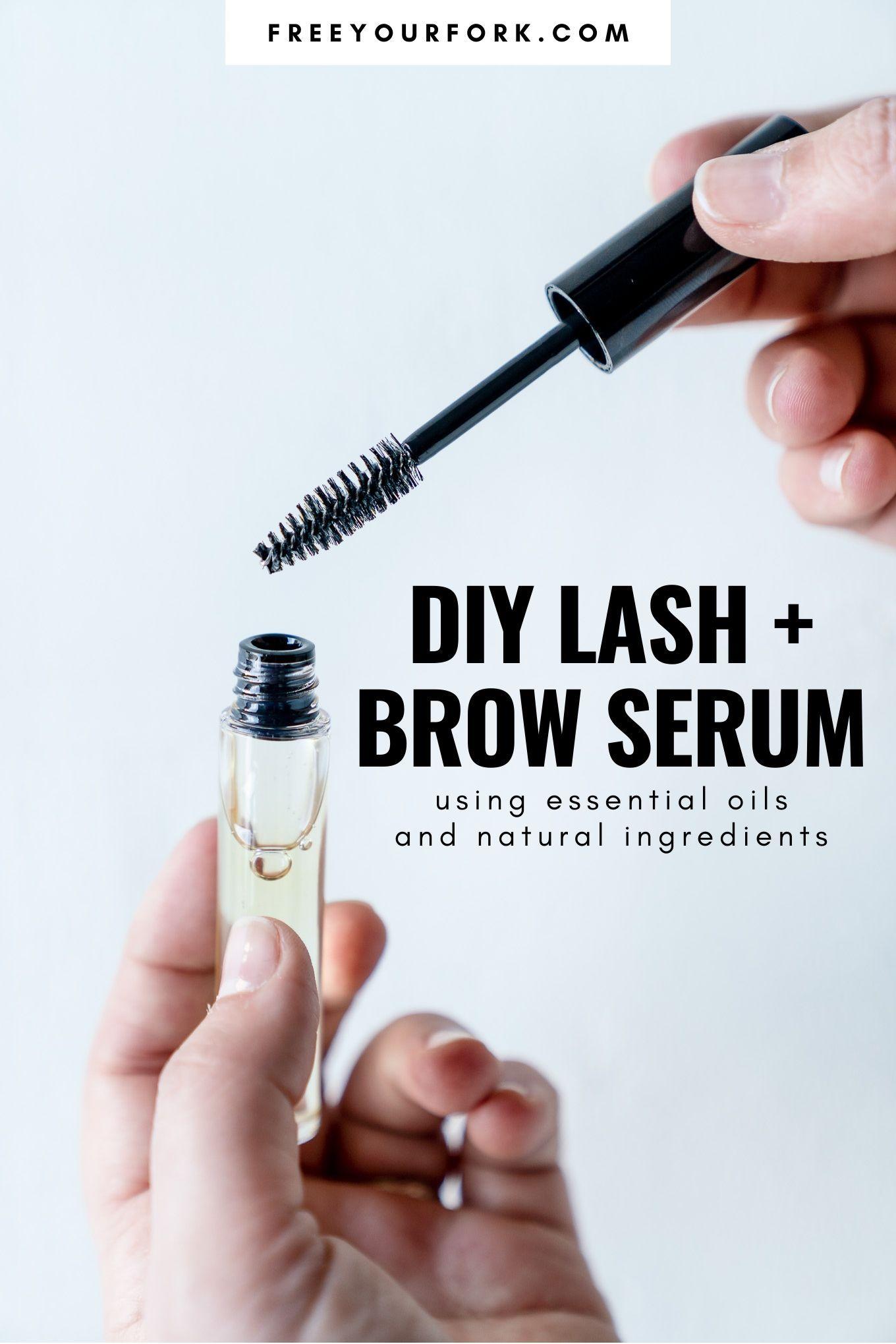 Diy lash and brow serum recipe in 2020 brow serum