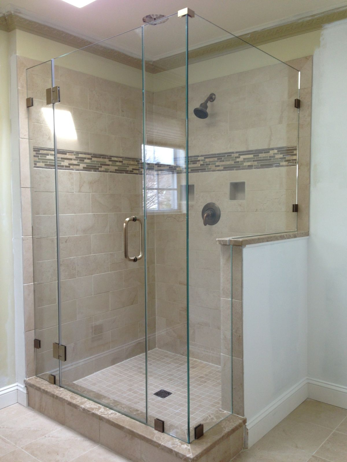 Showerman Frameless Shower Door With Images Frameless Shower Doors