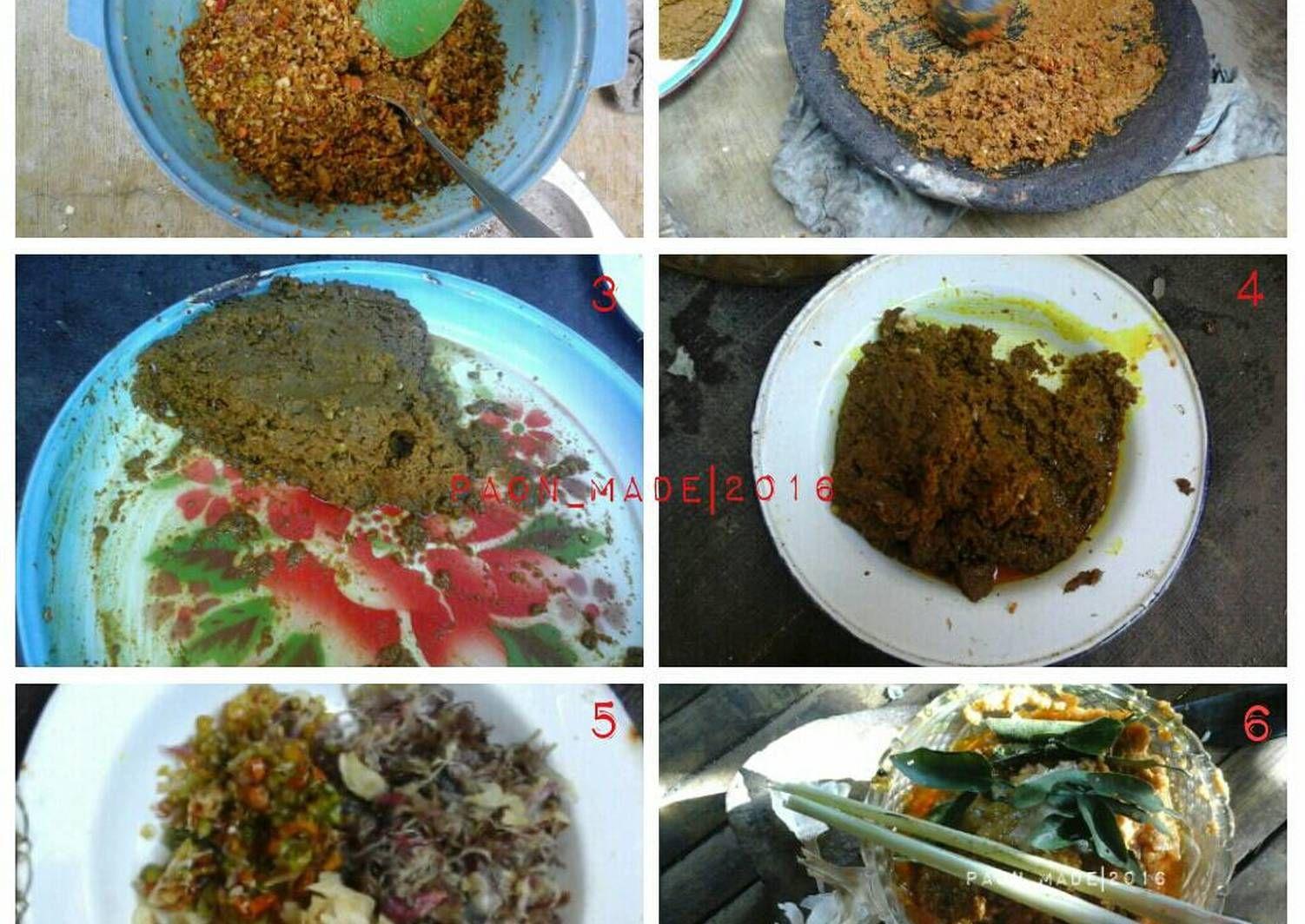 Resep Bumbu Bali Base Genep Oleh Paon Made Resep Resep Makanan Makanan Rempah
