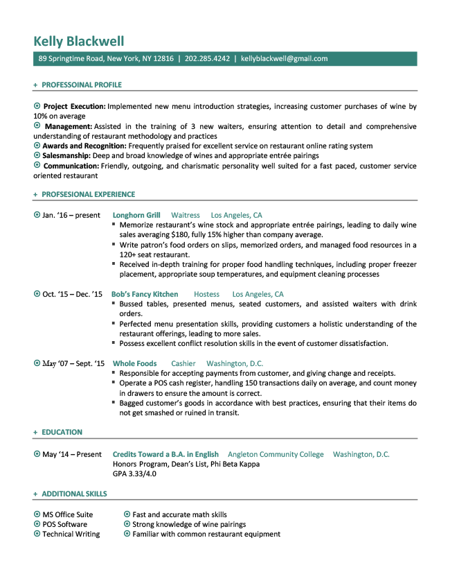 Job Hopper Original Rg Downloadable Resume Template