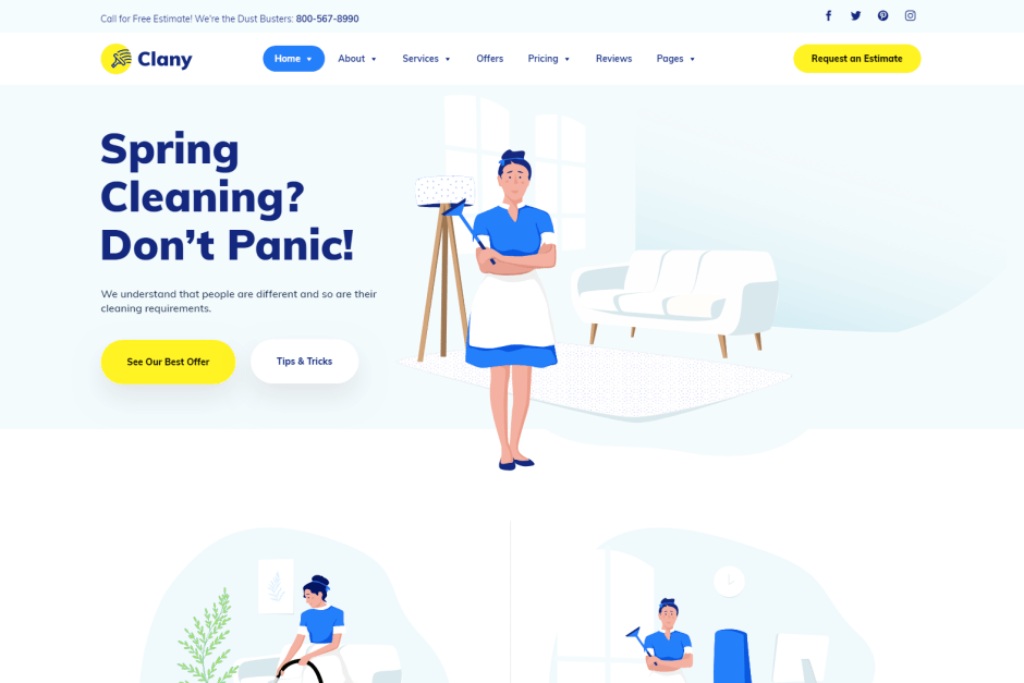 15 Best Cleaning Services Wordpress Themes For Cleaning Company And Its Services World Of Wp Cleaning Services Company Cleaning Companies Cleaning Service