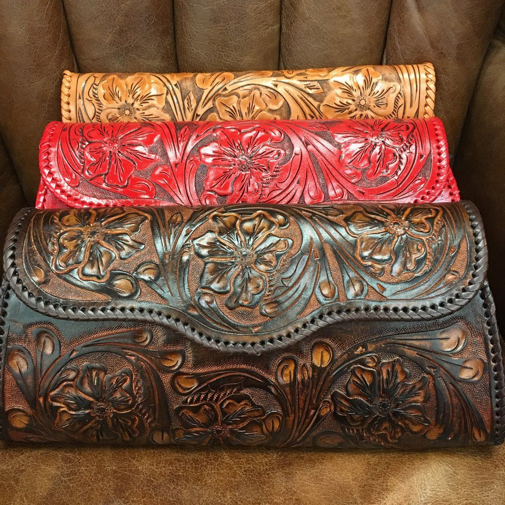 ONdalado grande tooled clutch