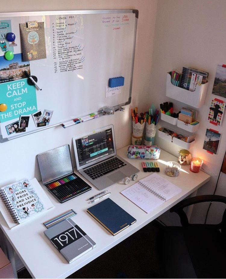 Idea By Sarra Lynnette Arts On Studio Study Room Decor Dorm Decorations College Dorm Decorations
