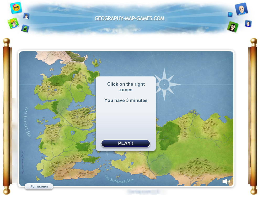 Wwwgeographymapgamescom Improve Your GoT Game Of Thrones - Geography map games