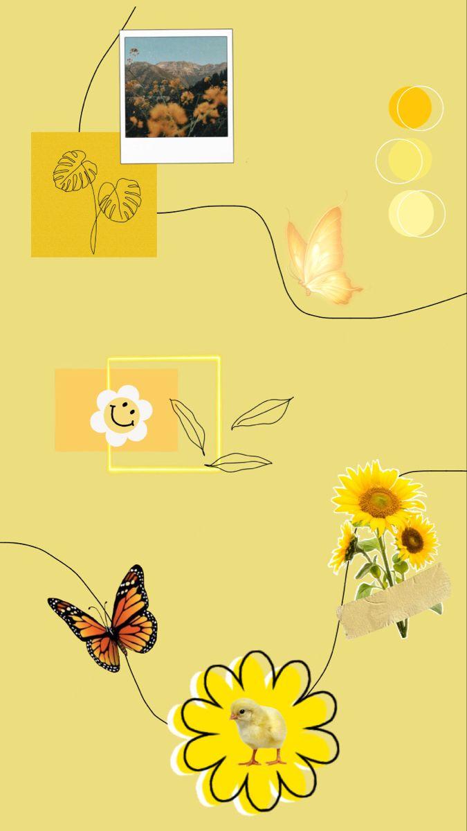 Yellow Wallpaper🌼:)