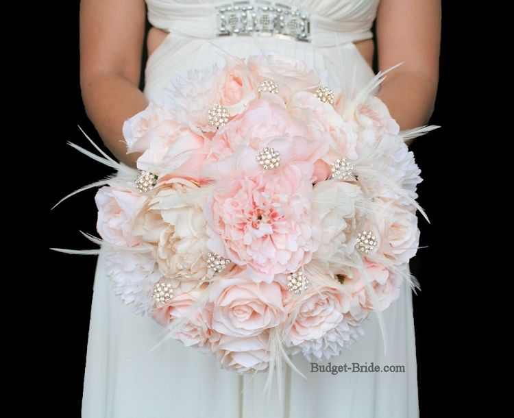 Love This Bouquet But Mostly White With Accents Of Tiffany Blue