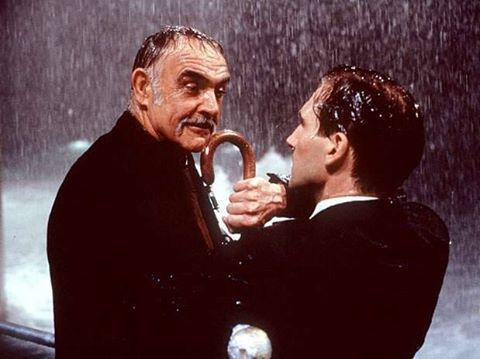 Connery and Ralph Fiennes 'The Avengers', 1998