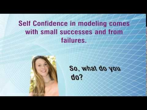 Learn how to become more confident as a model. If you're scared to get in front of the camera, watch..