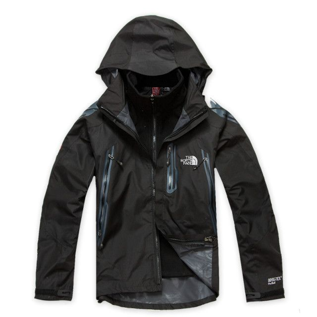 The North Face Gore Tex Pro Shell Jacket Men Black in 2019