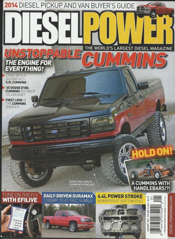 Diesel Power magazine Cummins Ford Dodge Efilive Duramax