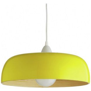 With Its Yellow High Gloss Finish, The Moxley Lacquered, Spun Bamboo  Pendant Light Shade Adds Colour And Energy To A Scheme. Buy Now At Habitat  UK.