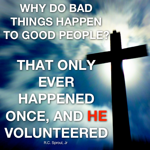 why do people do bad things When wondering why god would allow bad things to happen to good people, it's also good to consider these four things about the bad things that happen: 1) bad things may happen to good people in this world, but this world is not the end.
