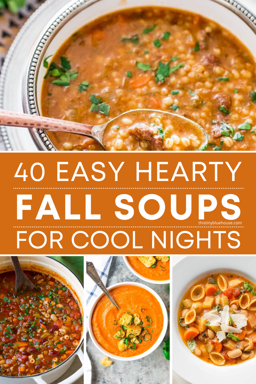 40 Must Try Delicious Easy Hearty Fall Soups In 2020 Fall Soups Recipes Soup Recipes