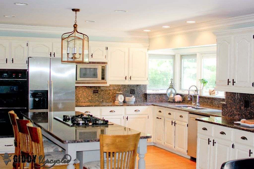 orange be gone my 1000 diy chalk paint kitchen makeover on best paint for kitchen cabinets diy id=94571