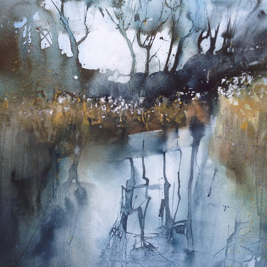 Last In The Wicken Fen Series For Cambridge Contemporary Art