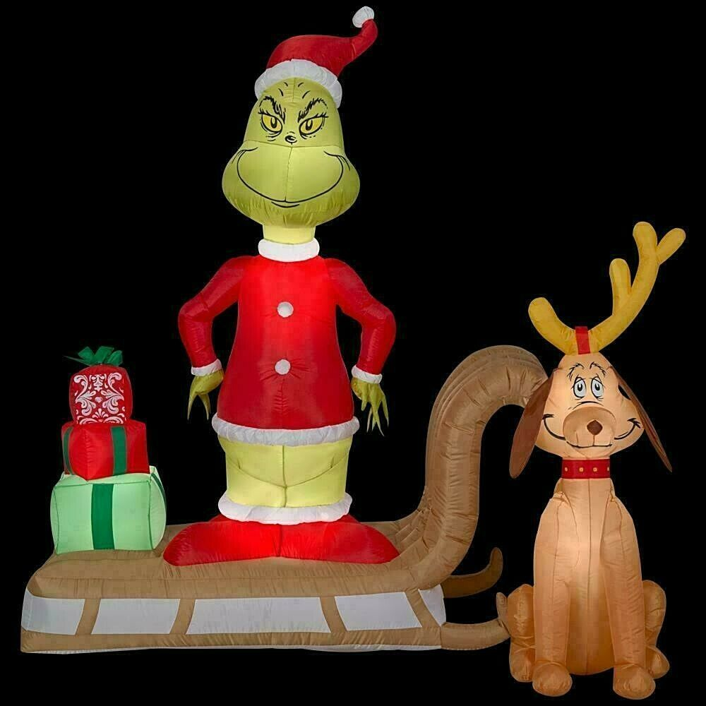 Inflatable Christmas decorations Grinch