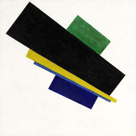 Suprematism, 18th construction (1915), Kazimir Malevich, $ 33 million