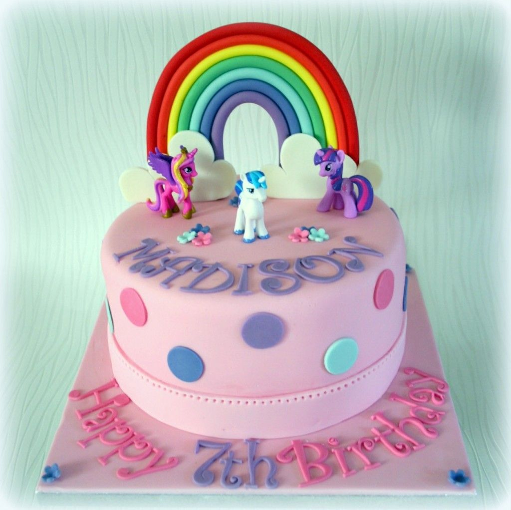 My Little Pony Birthday Cake 7th Birthday Sweet Nothings Cakes