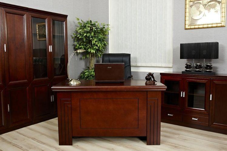 Scrivania in stile classico per ufficio PRESTIGE B410 1,2