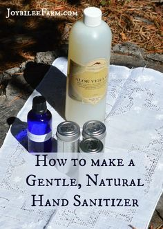 How To Make Hand Sanitizer With Natural Ingredients Natural Hand