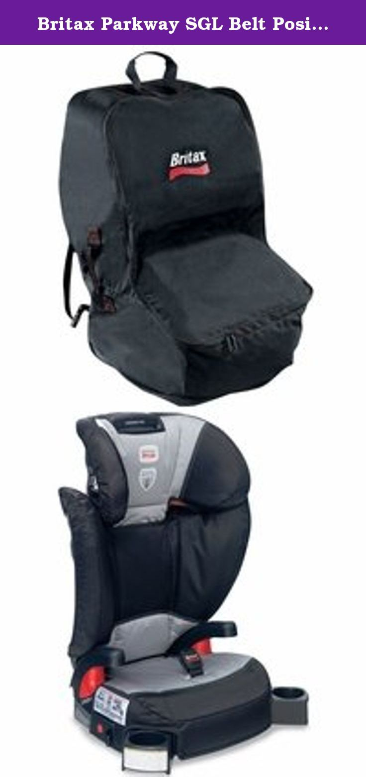 Britax Parkway SGL Belt Positioning Booster Seat