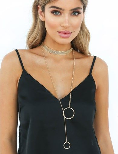 LOOKING UP NECKLACE