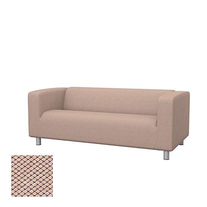Soferia Replacement Cover For Ikea Klippan 2 Seat Sofa