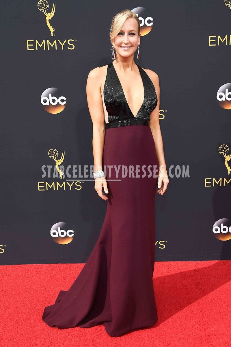 7073e0e19 Lara Spencer Emmys 2016 Two Toned Prom Dress in 2019
