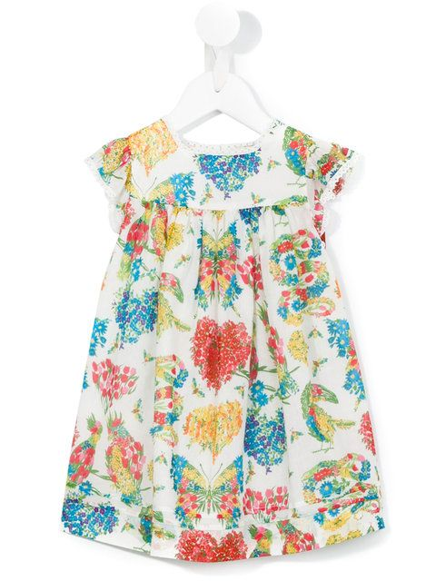 9c9d37a49 Shop Gucci Kids floral dress. | All things kid | Gucci floral ...