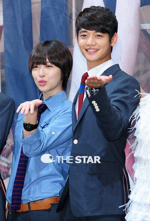 SHINees Choi Minho and ex-member of f(x) Sullis Dating Rumors.