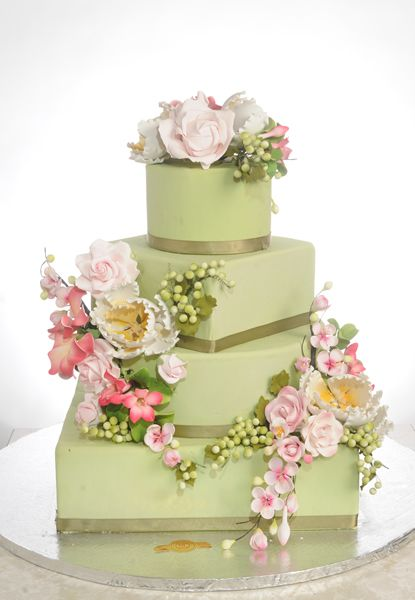 Wedding Cake By Crown Bakery Worcester MA