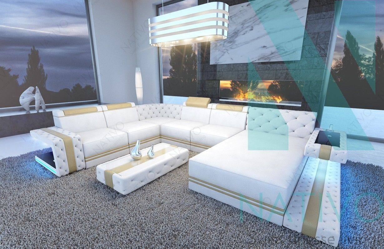 Canape Imperial Xxl Led Nativo Mobilier Design En 2020 Mobilier Design Canape En U Canape Design