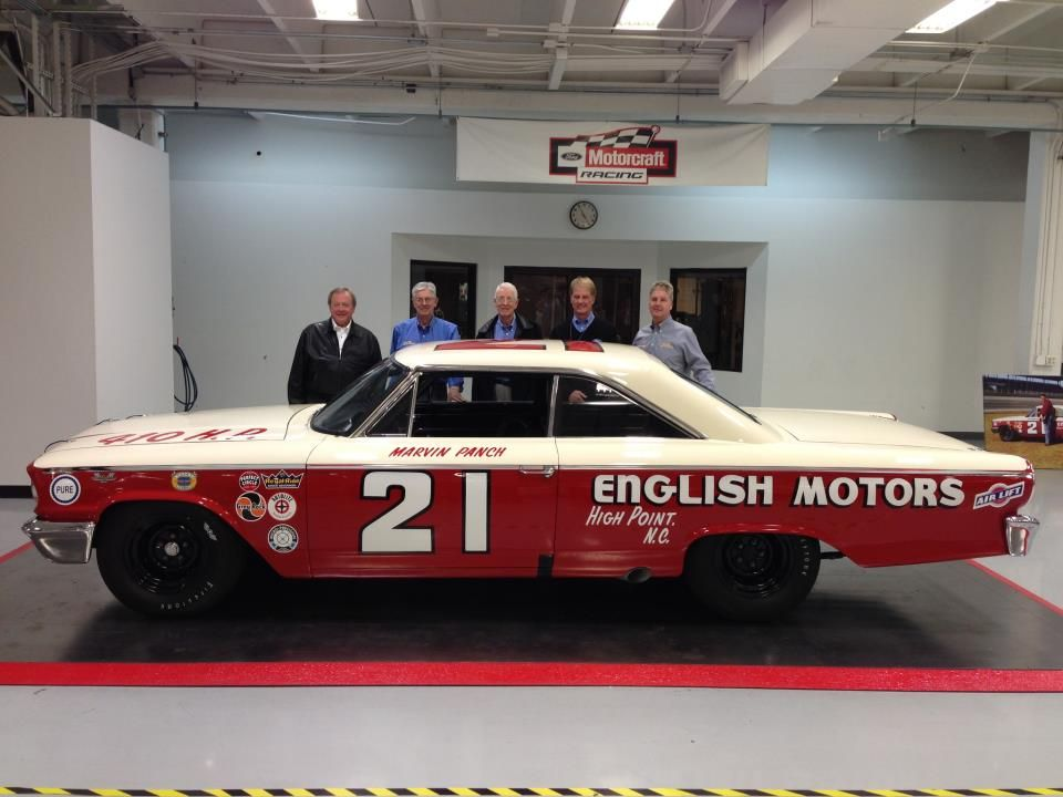 Rod Baker Ford >> This is the Wood Brothers Racing replica of their 1963 ...