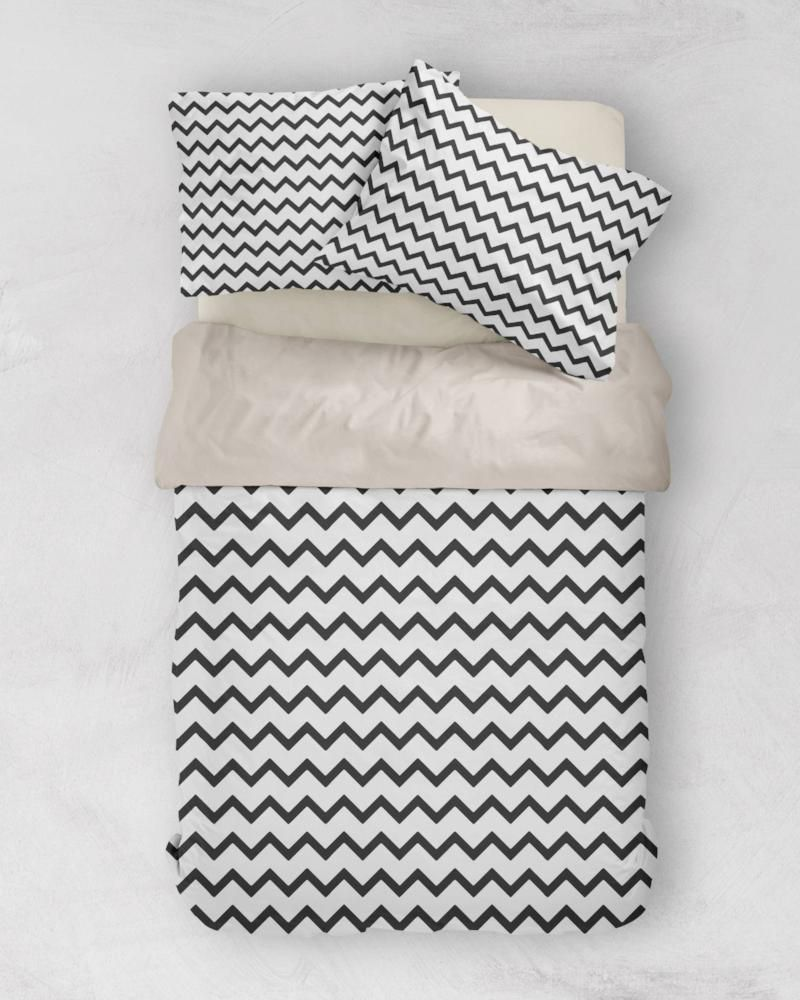 Chevron Duvet Covers In Lots Of Different Colours Including Black